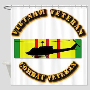 Vietnam - AVN - Air Assault Shower Curtain