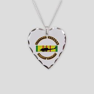 Vietnam - AVN - Air Assault Necklace Heart Charm