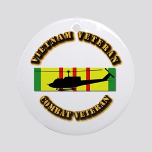 Vietnam - AVN - Air Assault Ornament (Round)