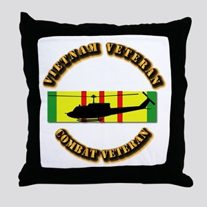 Vietnam - AVN - Air Assault Throw Pillow