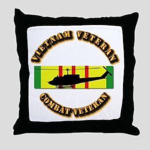 Vietnam - AVN - Air Assault Throw Pillow