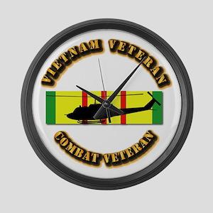 Vietnam - AVN - Air Assault Large Wall Clock