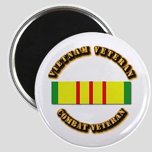 Vietnam Veteran - Service Medal Magnet