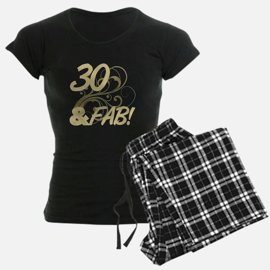 30 And Fabulous (Glitter) Pajamas