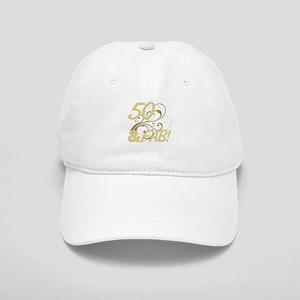 50 And Fabulous Glitter Cap