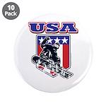 Patriotic USA Snowboarder 3.5