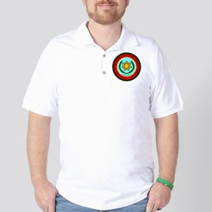 Eastern Band Of The Cherokee Seal Golf Shirt