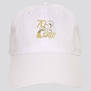 70 And Fabulous (Glitter) Cap