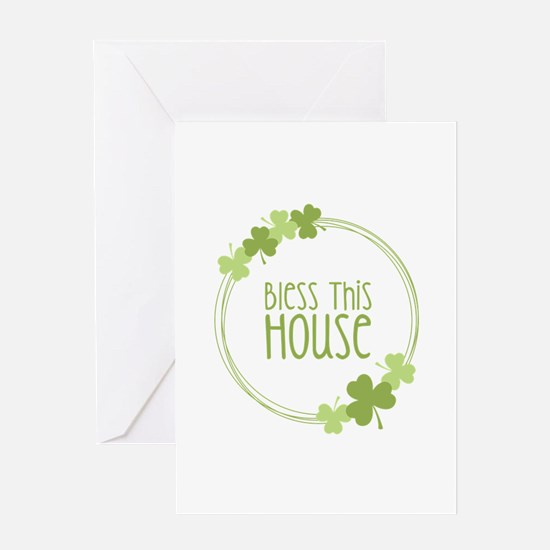 Bless This House Greeting Cards