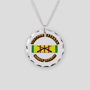 Vietnam - Infantry Necklace Circle Charm