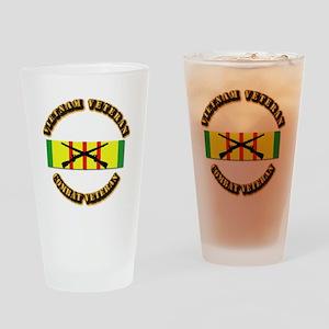 Vietnam - Infantry Drinking Glass