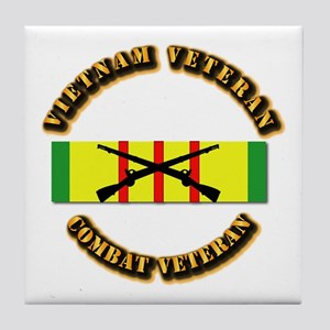 Vietnam - Infantry Tile Coaster