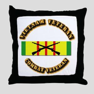 Vietnam - Infantry Throw Pillow