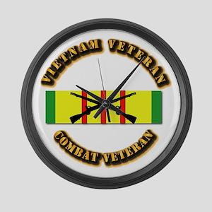 Vietnam - Infantry Large Wall Clock