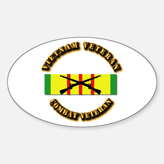 Vietnam - Infantry Sticker (Oval)