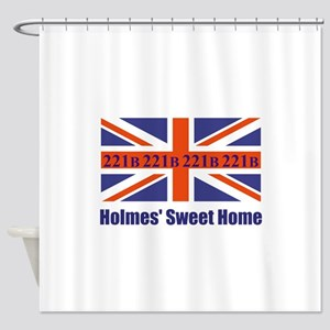 Holmes' Sweet Home Shower Curtain
