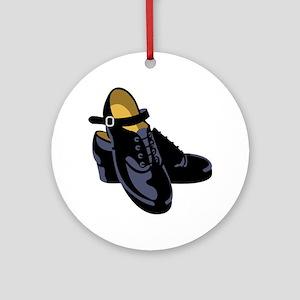 Irish Step Dance Clog Ornament (Round)