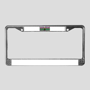 Nebo Truck Stop License Plate Frame