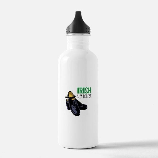 Irish Step Dancer Water Bottle