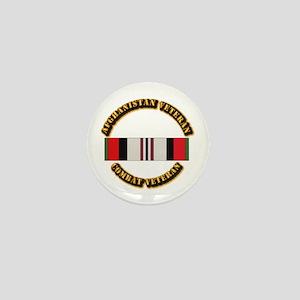 Afhganistan Veteran Mini Button