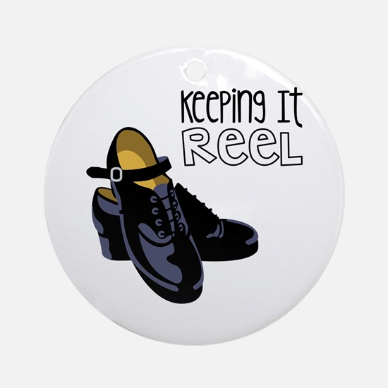 Keeping it Reel Ornament (Round)
