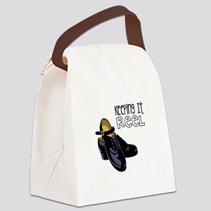 Keeping it Reel Canvas Lunch Bag