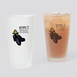 Keeping it Reel Drinking Glass