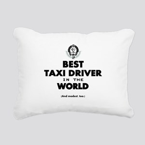 Best Taxi Driver in the World Rectangular Canvas P