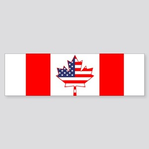 combo flag 3 Bumper Sticker