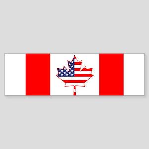 combo flag 3 Bumper Sticker