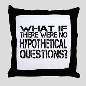 Hypothetical Throw Pillow
