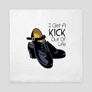 I Get a Kick Out of Life Queen Duvet