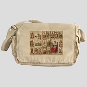 Italian Tarot, Vintage Messenger Bag