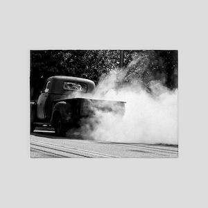 Smokin Truck 5'x7'Area Rug