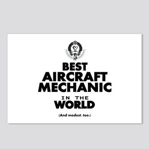 Best Aircraft Mechanic in the World Postcards (Pac