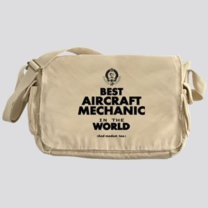 Best Aircraft Mechanic in the World Messenger Bag