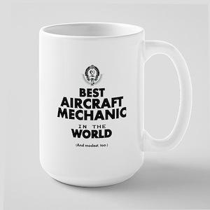 Best Aircraft Mechanic in the World Mugs