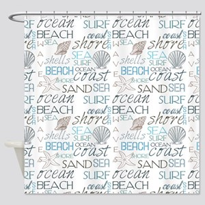 305b2c92c834 Starfish Shower Curtains - CafePress