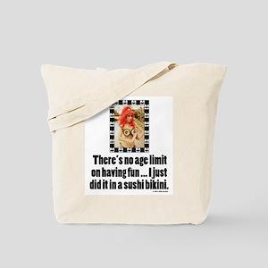 No Age Limit Tote Bag