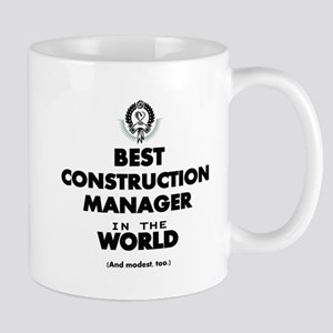 Best Construction Manager in the World Mugs