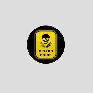 Celiac Skull Pride Mini Button