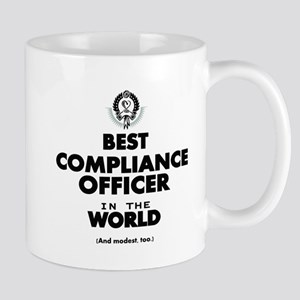 Best Compliance Officer in the World Mugs