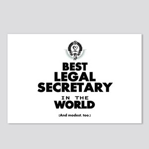 Best Legal Secretary in the World Postcards (Packa