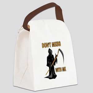 GRIM REAPER Canvas Lunch Bag