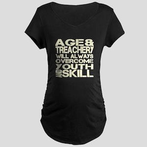 Treachery Maternity Dark T-Shirt