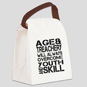 Treachery Canvas Lunch Bag
