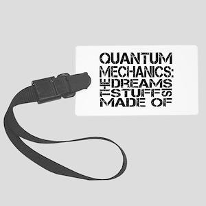 Quantum Mechanics Large Luggage Tag