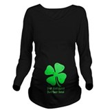 St patricks day Dark Long Sleeve Maternity T-Shirt