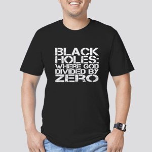 Black Holes Men's Fitted T-Shirt (dark)