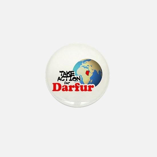 Cute Darfur Mini Button